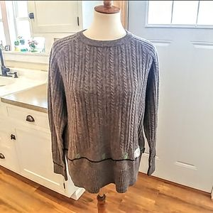 Vintage WOOLRICH Wool Cable Knit SHEEP Sweater